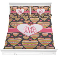 Hearts Comforter Set (Personalized)