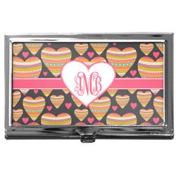 Hearts Business Card Case