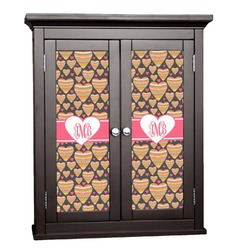 Hearts Cabinet Decal - Custom Size (Personalized)