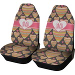 Hearts Car Seat Covers (Set of Two) (Personalized)