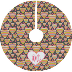 Hearts Tree Skirt (Personalized)