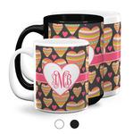 Hearts Coffee Mugs (Personalized)