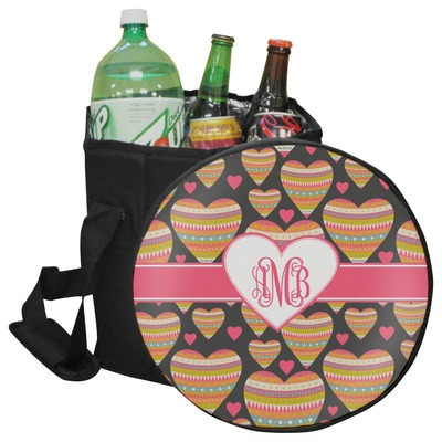 Hearts Collapsible Cooler & Seat (Personalized)