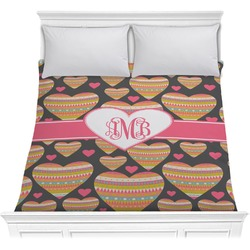Hearts Comforter (Personalized)
