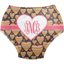 Hearts Diaper Cover (Personalized)