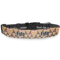 Hearts Deluxe Dog Collar (Personalized)