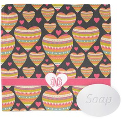 Hearts Wash Cloth (Personalized)