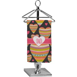 Hearts Finger Tip Towel - Full Print (Personalized)