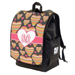 Hearts Backpack w/ Front Flap  (Personalized)