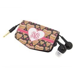 Hearts Genuine Leather Cord Wrap (Personalized)