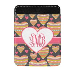 Hearts Genuine Leather Money Clip (Personalized)