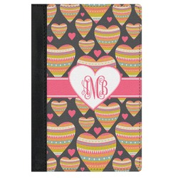 Hearts Genuine Leather Passport Cover (Personalized)