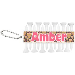 Hearts Golf Tees & Ball Markers Set (Personalized)