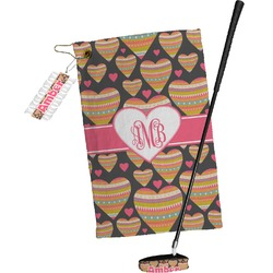 Hearts Golf Towel Gift Set (Personalized)
