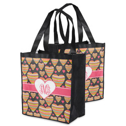 Hearts Grocery Bag (Personalized)