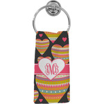 Hearts Hand Towel - Full Print (Personalized)