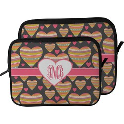 Hearts Laptop Sleeve / Case (Personalized)