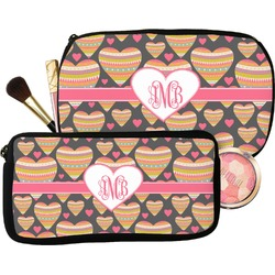 Hearts Makeup / Cosmetic Bag (Personalized)