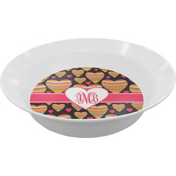 Hearts Melamine Bowls (Personalized)