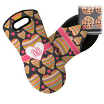 Hearts Neoprene Oven Mitt (Personalized)