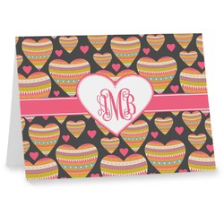 Hearts Notecards (Personalized)