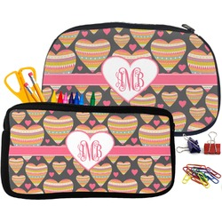 Hearts Pencil / School Supplies Bag (Personalized)