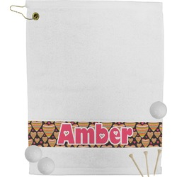 Hearts Golf Towel (Personalized)
