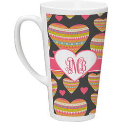 Hearts Latte Mug (Personalized)