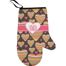 Hearts Oven Mitt (Personalized)