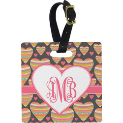 Hearts Luggage Tags (Personalized)
