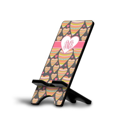 Hearts Cell Phone Stands (Personalized)