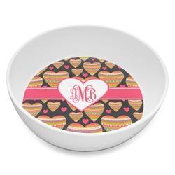 Hearts Melamine Bowl 8oz (Personalized)