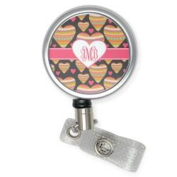Hearts Retractable Badge Reel (Personalized)