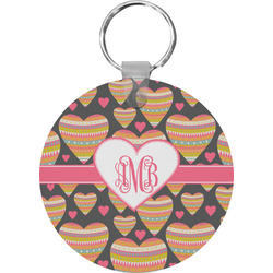 Hearts Keychains - FRP (Personalized)