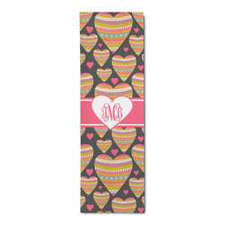 Hearts Runner Rug - 3.66'x8' (Personalized)
