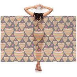 Hearts Sheer Sarong (Personalized)