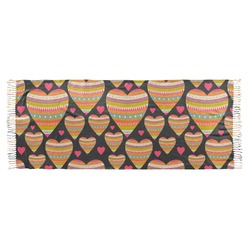 Hearts Faux Pashmina Scarf (Personalized)
