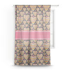 Hearts Sheer Curtains (Personalized)