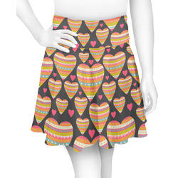 Hearts Skater Skirt (Personalized)
