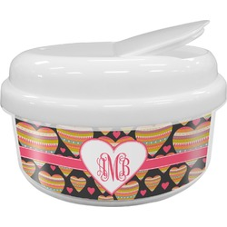 Hearts Snack Container (Personalized)