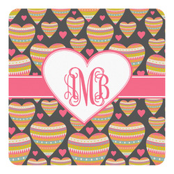 Hearts Square Decal (Personalized)