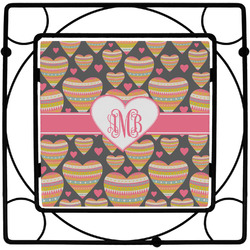 Hearts Trivet (Personalized)