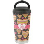 Hearts Stainless Steel Coffee Tumbler (Personalized)