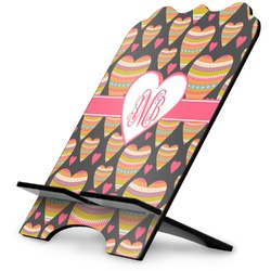 Hearts Stylized Tablet Stand (Personalized)