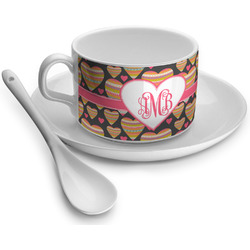 Hearts Tea Cups (Personalized)