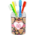 Hearts Toothbrush Holder (Personalized)