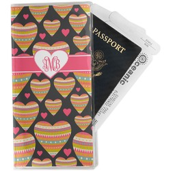 Hearts Travel Document Holder
