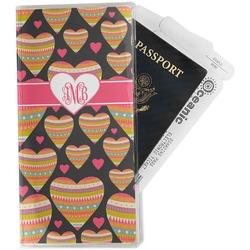 Hearts Travel Document Holder