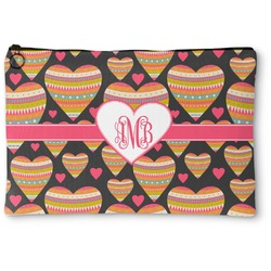 Hearts Zipper Pouch (Personalized)