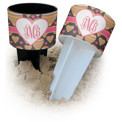 Hearts Beach Spiker Drink Holder (Personalized)